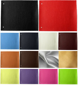 FAUX LEATHER FABRIC WATERPROOF UPHOLSTERY LEATHERETTE PU MATERIAL 1 TO 5 METRES