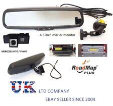 mercedes vito viano 5 inch rear view mirror rear reversing parking camera