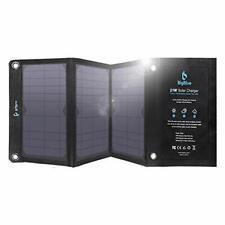 BigBlue 28W Chargeur Solaire Pliable avec 3 USB Ports Panneau Solaire Portable e