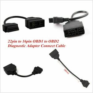 OBD1 to OBD2 22 Pin to 16 Pin Diagnostic Adapter Connect Cable For Toyota Lexus