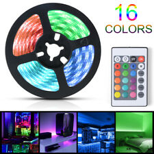 USB Powered RGB LED Strip Light Computer TV Backlight with Remote Control LD2448