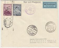 ÖSTERR / OSTMARK 17.III.1938 FLUGPOST BRIEF WIEN - ESSEN