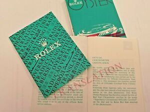 ROLEX Oyster Translation Booklet  choice of dates