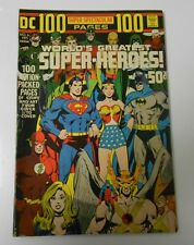 1971 DC 100 Page Super Spectacular #6 FVF Superman BATMAN Wonder Woman