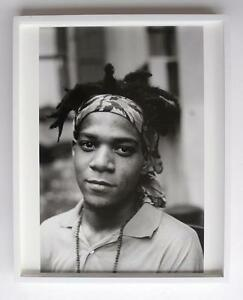 Andy Warhol Assistant Ari Marcopoulos~ Silver Gelatin Print Jean-Michel Basquiat