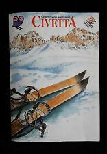 D5> BROCHURE - COMPRENSORIO SCIISTICO DEL CIVETTA DOLOMITI SUPERSKI ANNO 1995