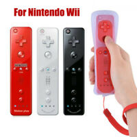 For Nintendo Wii Inside Remote Controller w/ 2 in1 Wiimote Built in Motion Plus