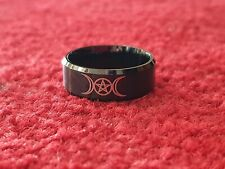 Crowley occult ring. Size 10