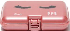 Barbie Metallic Mauve Caboodles Mini 'Eyelash' Case - Adult Size Cosmetic Travel