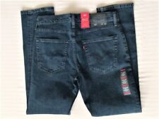 Levi's Men's New 502 0059 34x32 Blue Jeans Reg To Thigh Slight Taper Leg LoWaist