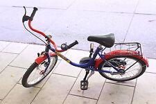 "tolles TOPSY Kinderfahrrad 18"" Kinderrad mit Rücktritt Kinder Fahrrad BLAU-ROT"