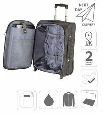 """15.6"""" Laptop Cabin 2 Wheeled Luggage Overnight Case FI1004  & Free iPad Case"""