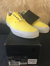 Vans Syndicate X Carhartt 3M Tab Era Yellow Size 10 New In Box