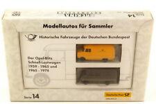 1:87 post-Set Series 14 Der Opel Blitz Schnell-Lastwagen 1959 And 1965 - Brekina