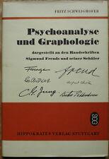 Schweighofer Psychoanalyse und Graphologie