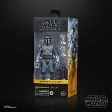 Star Wars The Black Series Clone Wars Mandalorian Loyalist Walmart Exclusive New