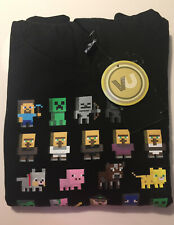 Boys MOJANG Minecraft Sprites Black Hoodie Age 10-11 years JINX New with Tags