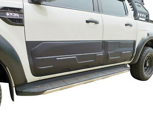Rugged Black Body Side Line Protector Cover for Ford Ranger 2011-20 PX