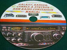 GALAXY, RANGER, CONNEX & STRYKER HAM RADIO CONVERSION MANUAL ON CD