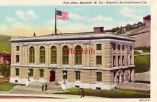 POST OFFICE, BLUEFIELD, WV - NATURE'S AIR-CONDITIONED CITY