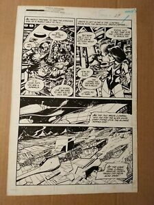Jim Craig original comic book interior page art from Jason Monarch #1 page 12