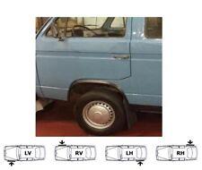 VW T3 Bulli Multivan 79-92 Radlauf Zierleisten Vorne Hinten 4 Stück SCHWARZ MATT