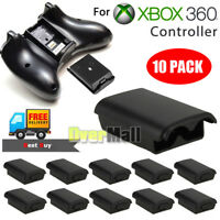 10Pcs AA Battery Pack Case Back Cover Shell for Xbox 360 Wireless Controller