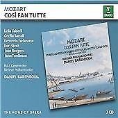 Daniel Barenboim - Mozart: Cosi fan tutte 3 CD Set New