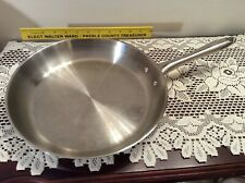 "T-FAL Induction 12"" Fry Pan Skillet ~ Stainless Steel"