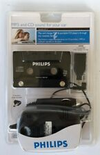 Philips Saa2051W/17 Mp3 And Cd Universal Cassette Adapter (Black) Sealed
