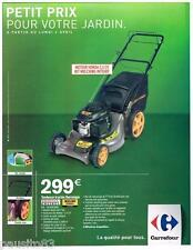 PUBLICITE ADVERTISING 095  2007  HONDA ENGINES BERNARD loisirs  tondeuse tractée