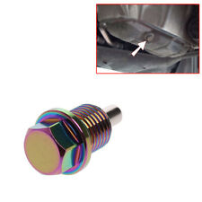 M14 × 1.5MM Colorful Magnetic Engine Oil Pan Drain Plug Nut Bolt Crush Washer
