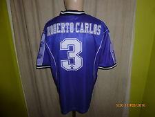 Real MADRID kelme Trasferta Champions League maglia 1997/98 + N. 3 Carlos Taglia L