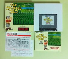 T&E Virtual GOLF Virtual Boy Nintendo Virtualboy VB JAPAN USED