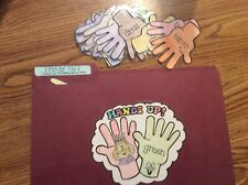 Hands Up rhyming words language Centers File Folder Games 1st