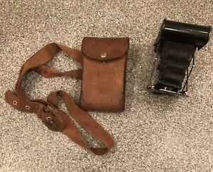 Kodak Vest Pocket Autographic Folding Camera A-127 with Case