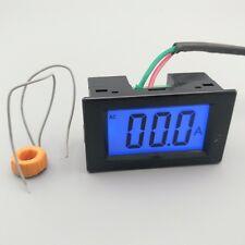 LCD display black ampere meter Ammeter range AC 0-50.0A Panel 80-300V Inpute