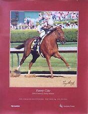 2003 Kentucky Derby Poster Funny Cide Santos Tony Leonard