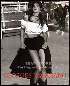 GUESS__SHANA ZADRICK__Original 1991 print AD fashion promo__Georges Marciano