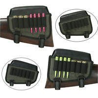 Tourbon Tactical Rifle&Shotgun Ammo Pouch Holder Cheek Rest Buttstock Right/Left