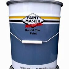 HEAVY DUTY Acrylic Roof And Tile Paint 20lt CHEAPEST ON EBAY 7 COLOURS