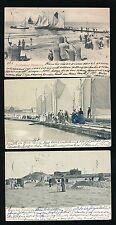 Germany NORDERNEY Nordseebad x5 used 1900s u/b PPCs