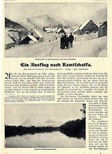 Baron Binder C. von Krieglstein Ausflug nach Kamtschatka Text/ Bilddokument 1906
