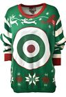 Women's GAME DAY Target Holiday Party Ugly Christmas Xmas Sweater Sz XL A901