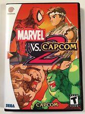 Marvel vs Capcom 2 - Sega Dreamcast - Replacement Case - No Game