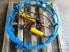 32 inch Pipe Welding External Alignment Clamp Dis-connect Hydraulic Type