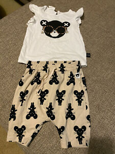 Huxbaby Girls Shorts And Top