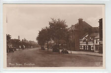 Main Street Frodsham Cheshire c1930's Real Photograph Lilywhite Old Postcard