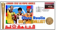CHEN RUOLIN 2012 OLYMPIC CHINA DIVING GOLD MEDAL COVER