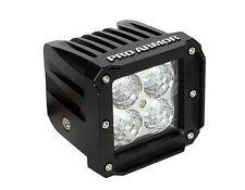 "Pro Armor 2"" x 2"" LED Cube Flood Light Lite Bar Single ATV UTV Car Dune Buggy"